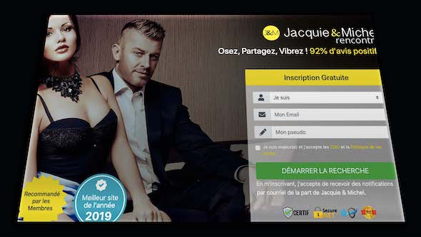 site jacquie et michel contact